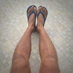 足が汚れたくないから靴を履く!?
