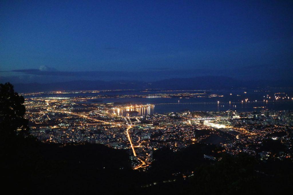 リオ,夜景,凝コルコバード