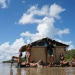 アマゾン川手作りイカダ川下り。あわや沈没!?⑧